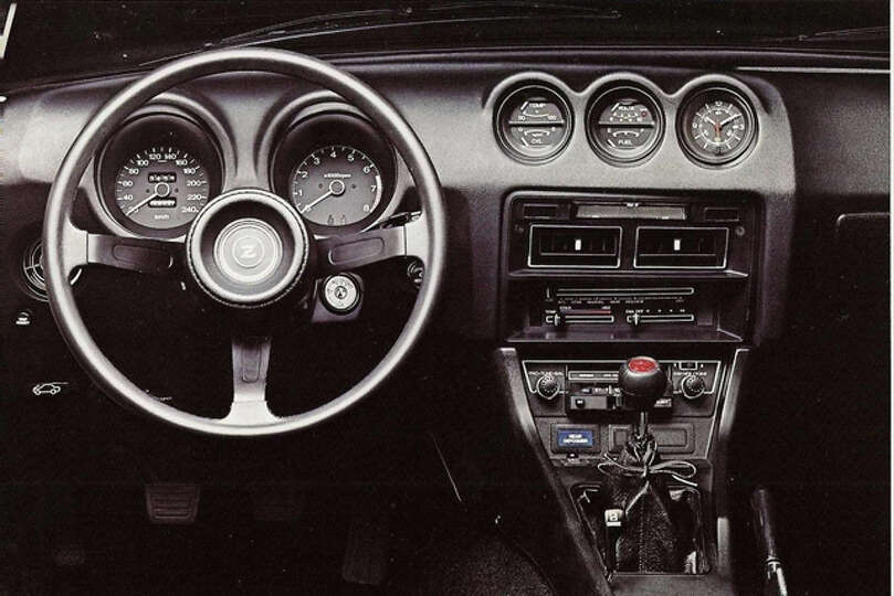 interior of the 1976 datsun 280z source classic cars blog photo times union. Black Bedroom Furniture Sets. Home Design Ideas