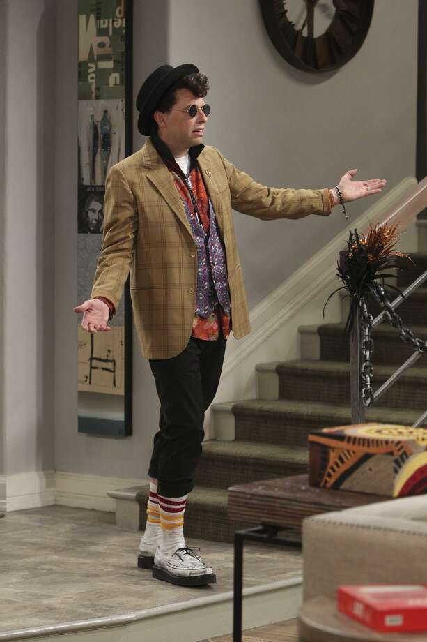 "Alan (Jon Cryer) recreates 'Duckie' from 'Pretty and Pink' on the Halloween episode of ""Two and a Half Men"" (8 p.m. Thursday on CBS) Photo: Sonja Fleming / CBS / Ã?©2014 CBS Broadcasting, Inc. All Rights Reserved"