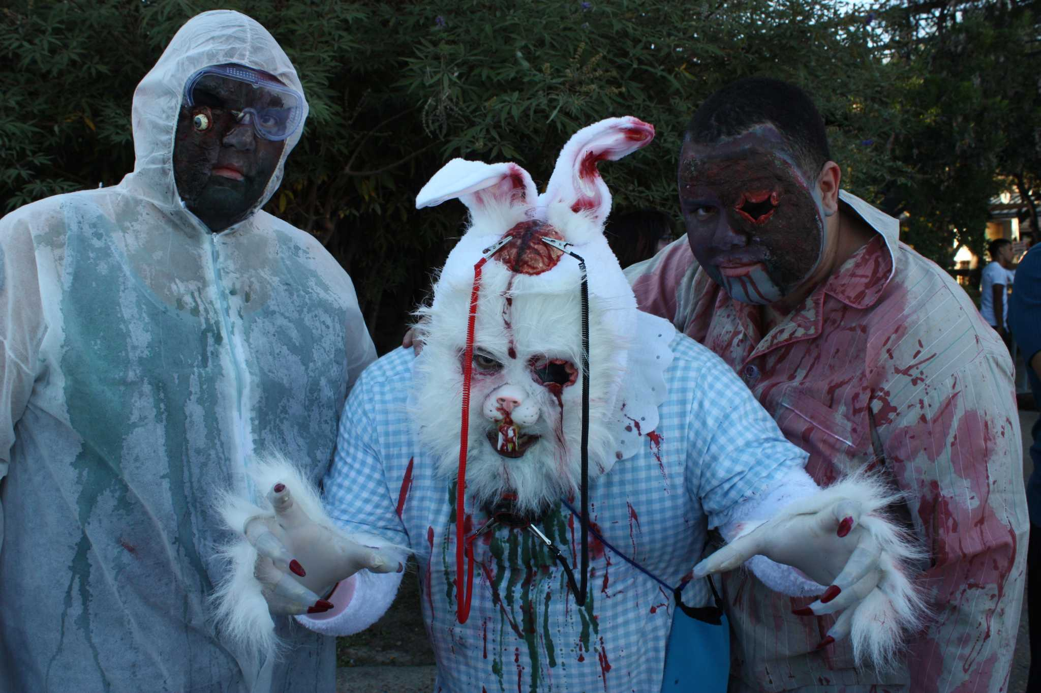 myspy san antonio zombie walk 2014 san antonio expressnews