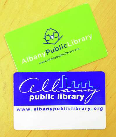 The old library cards at the Albany Public Library Tuesday, June 17, 2014 in Albany, N.Y. An initiative for children to offer the APL MyCard was announced by Albany Public Library, Albany Mayor Kathy Sheehan and the City School District.  (Lori Van Buren / Times Union) Photo: Lori Van Buren / 00027391A