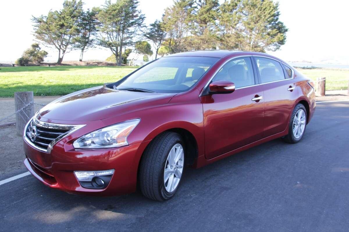 8. Nissan Altima Cars stolen in 2014: 9,109
