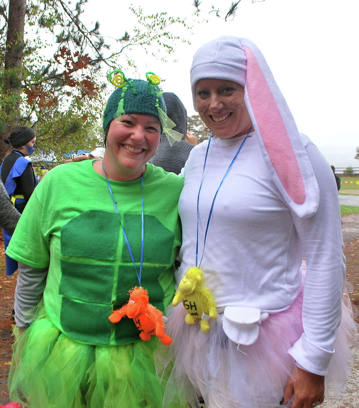 Were you Seen at the 10th Annual Hairy Gorilla Half-Marathon and Squirrelly Six Mile Run at Thacher State Park in Voorheesville on Sunday, Oct. 26, 2014?