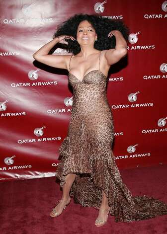 NEW YORK - JUNE 28:  Singer Diana Ross attends a Qatar Airways gala to celebrate their inaugural flights to NYC, June 28, 2007 at the Frederick P. Rose Hall - Jazz at Lincoln Center in New York City.  (Photo by Evan Agostini/Getty Images) *** Local Caption *** Diana Ross Photo: Evan Agostini, Getty Images / 2007 Getty Images