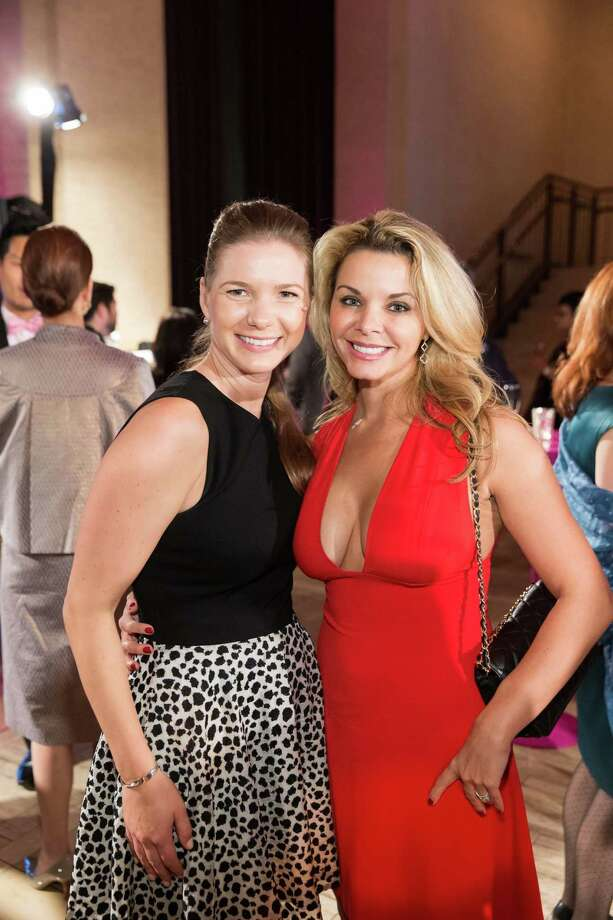 Kristin Coyt and Christine Merritt at the 10th annual This Old Bag auction in San Francisco on October 17, 2014. Photo: Drew Altizer Photography / DREW ALTIZER PHOTOGRAPHY