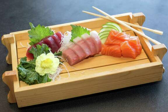 Kaneyama, a West Chase area sushi spot, is celebrating its 20th anniversary in November. 9527 Westheimer Road. ID: Sashimi Friday  October 24, 2014 (Craig H. Hartley/For the Chronicle)
