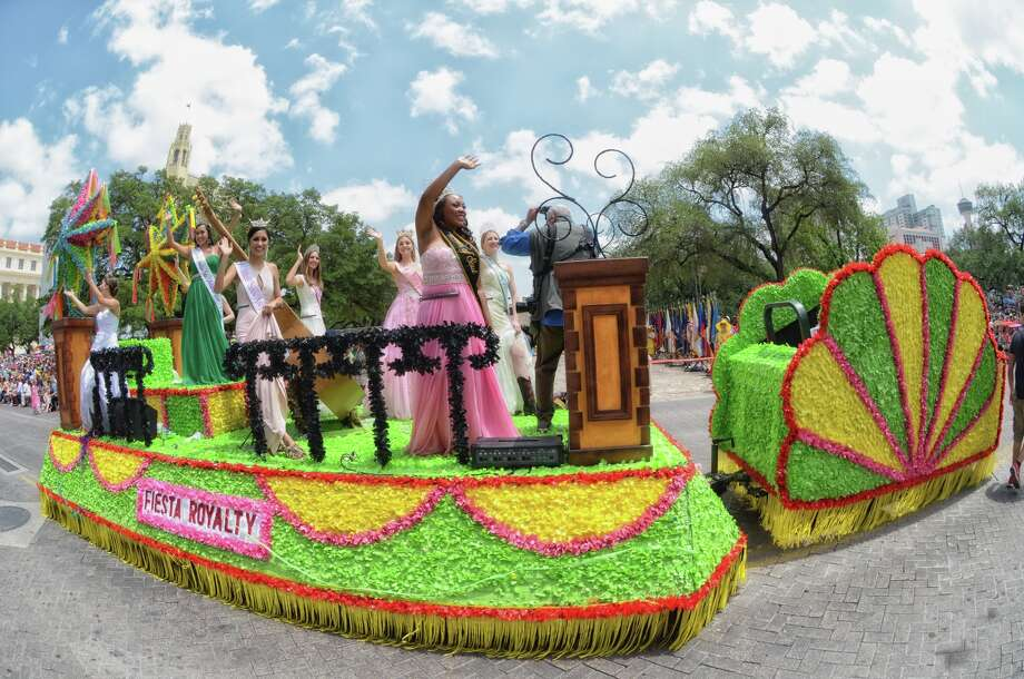 A float used to ferry San Antonio's Fiesta queens and royalty through the annual celebration's signature parades was stolen from an East Side storage facility near Interstate-35 last week, said John Melleky, CEO for the Fiesta San Antonio Commission.