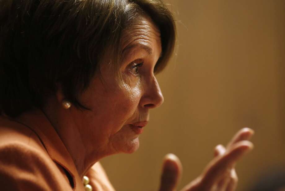 House Minority Leader Nancy Pelosi, (D-San Francisco), speaks with The Chronicle Editorial Board about the Nov. 4 election and prospects for the Republicans taking the U.S. Senate on October 27, 2014 in San Francisco, Calif. Photo: Erin Brethauer, The Chronicle