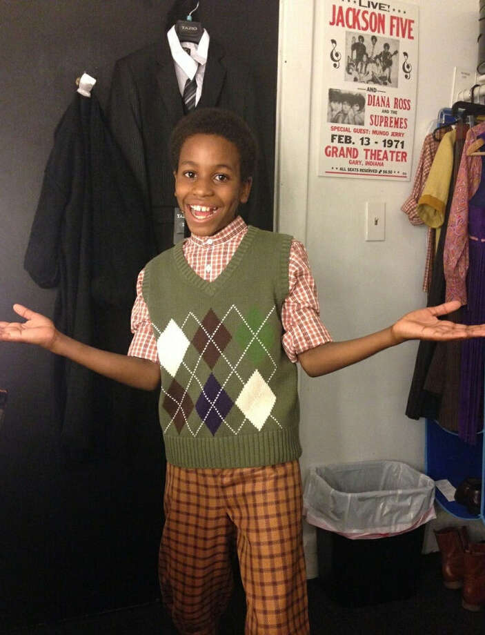 "Nathaniel Cullors, 11, is a Kitty Hawk Middle School eighth-grader who is performing in the Broadway production of ""Motown, the Musical"" in New York City. Photo: Courtesy Photo"