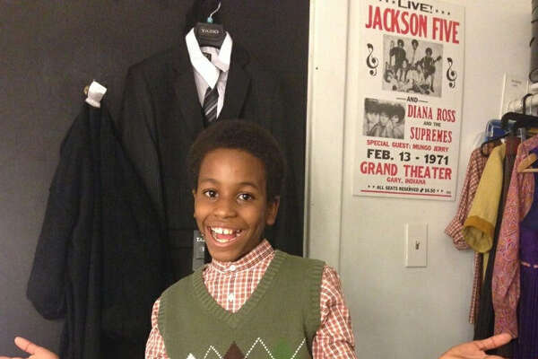 "Nathaniel Cullors, 11, is a Kitty Hawk Middle School eighth-grader who is performing in the Broadway production of ""Motown, the Musical"" in New York City."