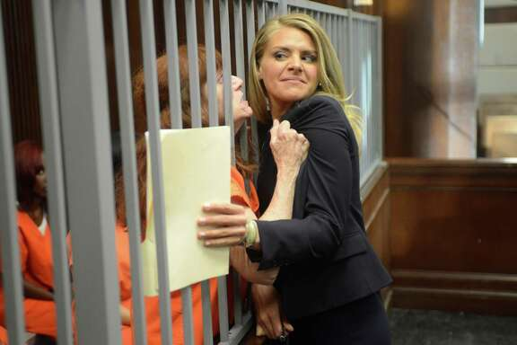 """Eliza Coupe stars as a high-powered-lawyer-turned- public-defender in """"Benched."""""""