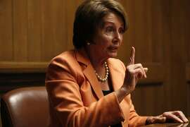 House Minority Leader Nancy Pelosi, (D-San Francisco), speaks with The Chronicle Editorial Board about the Nov. 4 election and prospects for the Republicans taking the U.S. Senate on October 27, 2014 in San Francisco, Calif.