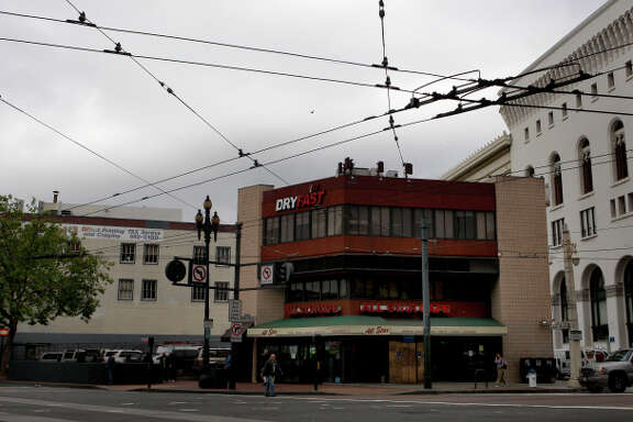 The intersection of Market Street and Van Ness Avenue could soon be home to a new  400-foot tower.