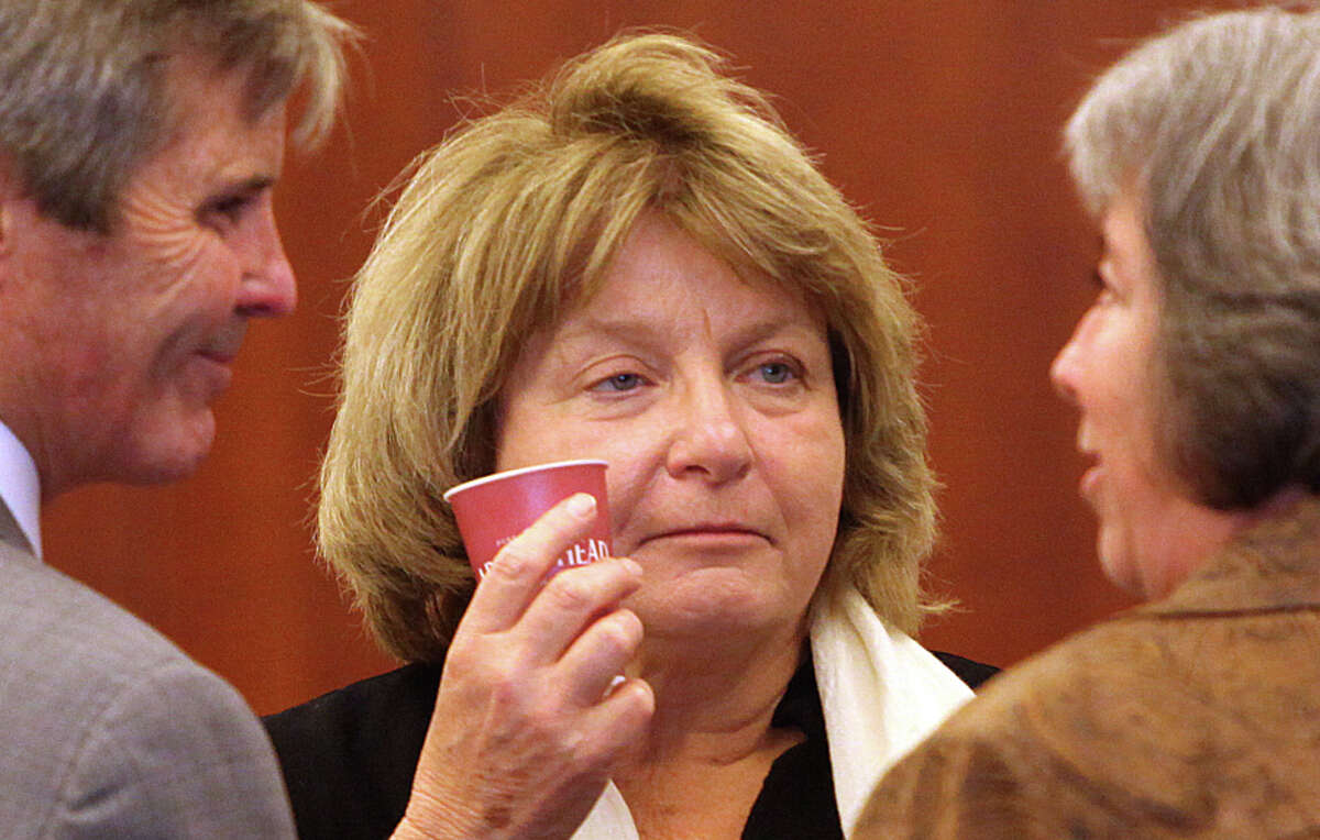 Barbara Beno, then-president of the Accrediting Commission for Community and Junior Colleges, at the City College of San Francisco trial at San Francisco Superior Court on Oct. 27, 2014.