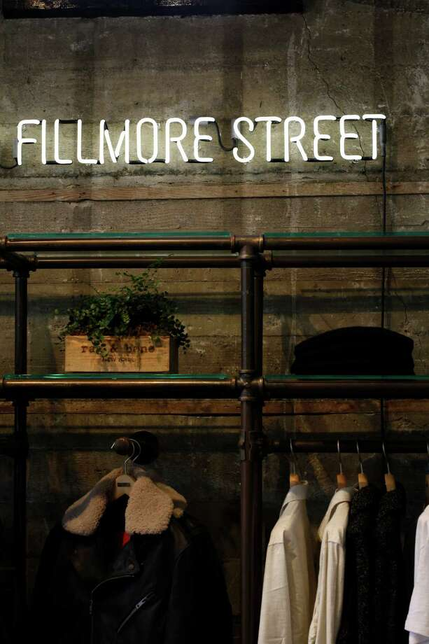 (Bay Area) Fall: The openings of Rag & Bone and Rebecca Minkoff on Fillmore Street and Warby Parker in Hayes Valley solidify the neighborhoods as centers of cool. Photo: Sarah Rice / Special To The Chronicle / ONLINE_YES