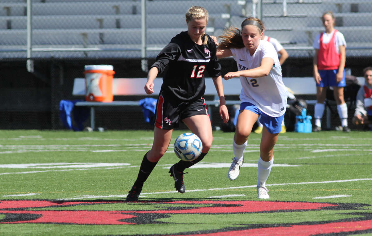 Cori Winslow of the RPI women's soccer team. (RPI sports information)