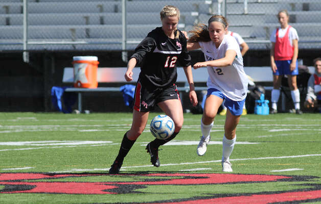 Cori Winslow of the RPI women's soccer team. (RPI sports information) Photo: Eugene DeVillamil / All Rights Reserved