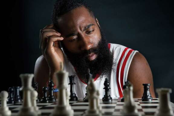 "James Harden called his teammates ""other pieces"" in the offseason, but the All-Star guard knows he has to improve his all-around game to beat the grandmasters."