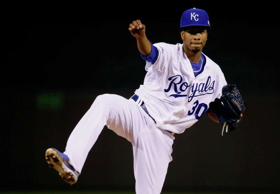 The Royals are counting on hard-throwing Yordano Ventura to help them extend the World Series to a winner-take-all Game 7. Photo: Getty Images / 2014 Getty Images