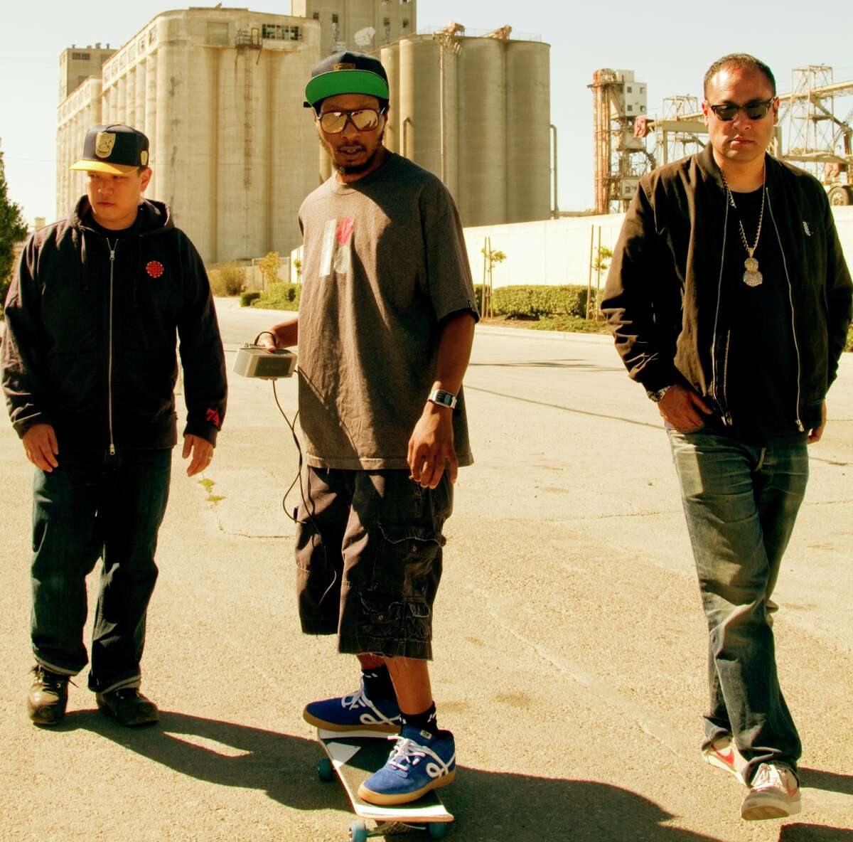Kid Koala (left), Del the Funky Homosapien and Dan the Automator have re-formed as Deltron 3030.
