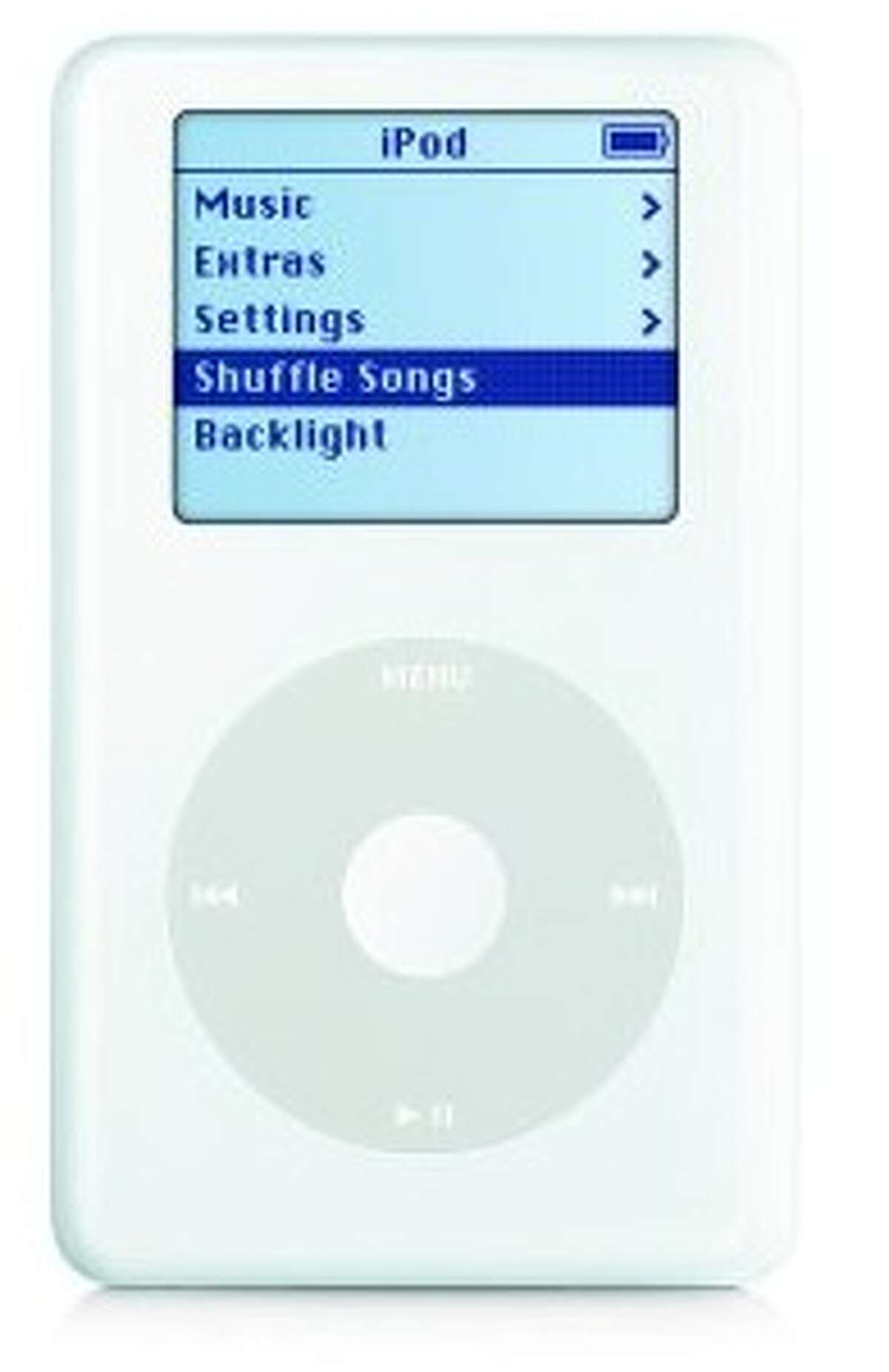 The full-sized, clickwheel iPod with first appeared in July 2004 (though the clickwheel originally appeared on the first iPod mini that year).