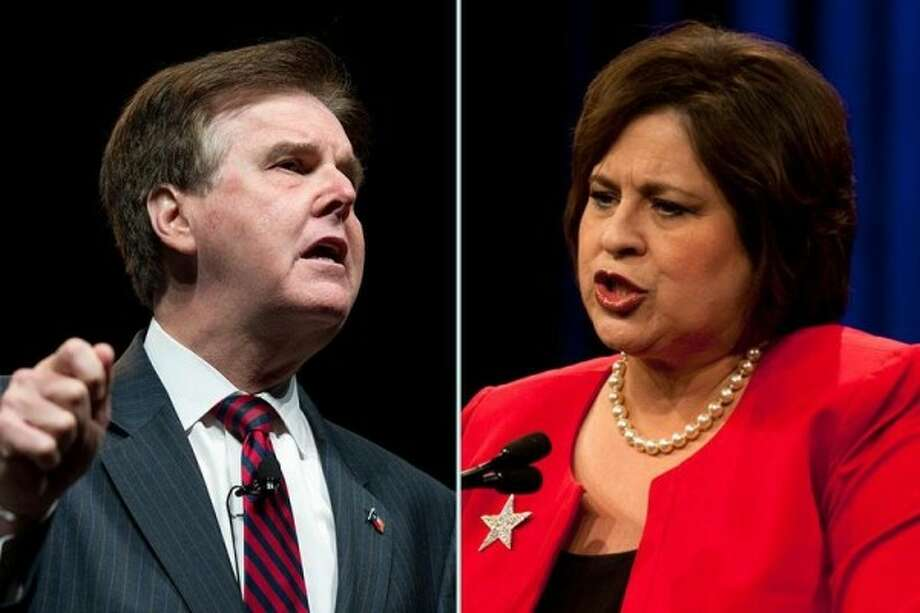 Dan Patrick vs. Leticia Van de PutteLt. Governor Election 2014