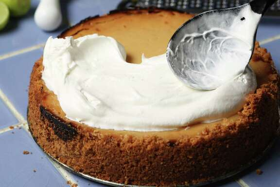 Key Lime Pie featured in Kitchen to Kitchen column on Tuesday, Oct. 14, 2014, in Houston. ( Mayra Beltran / Houston Chronicle )