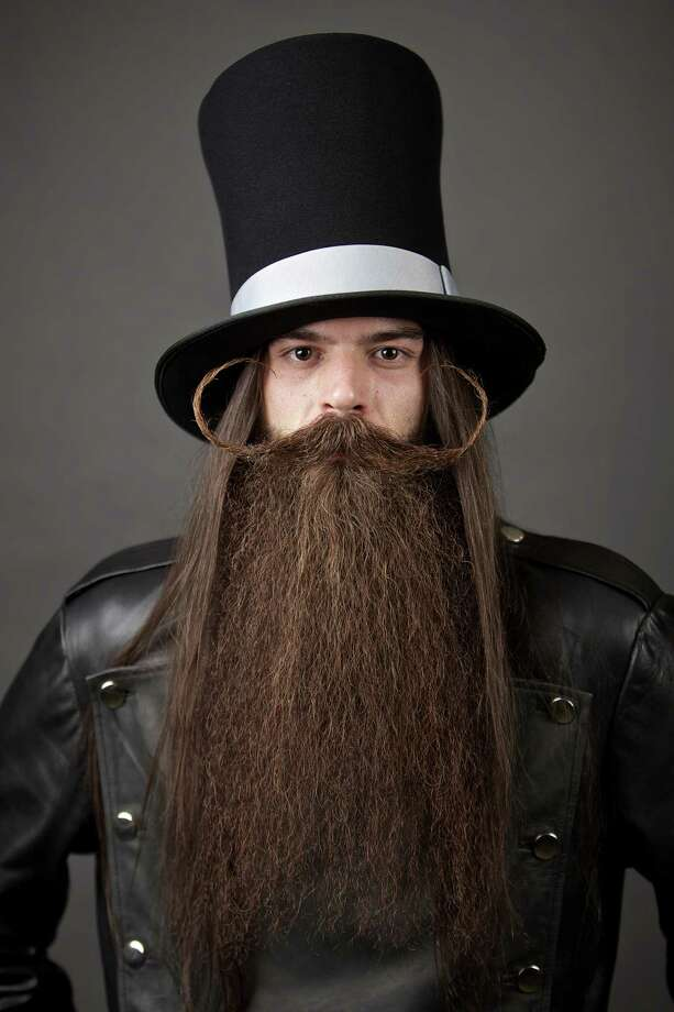 The Just For Men World Beard and Moustache Championships crowned 18 title winners, highlighting the best and boldest examples of facial hair from across the globe on Saturday, October 25th, 2014. Photo: Craig Mitchelldyer, AP Images / AP Images