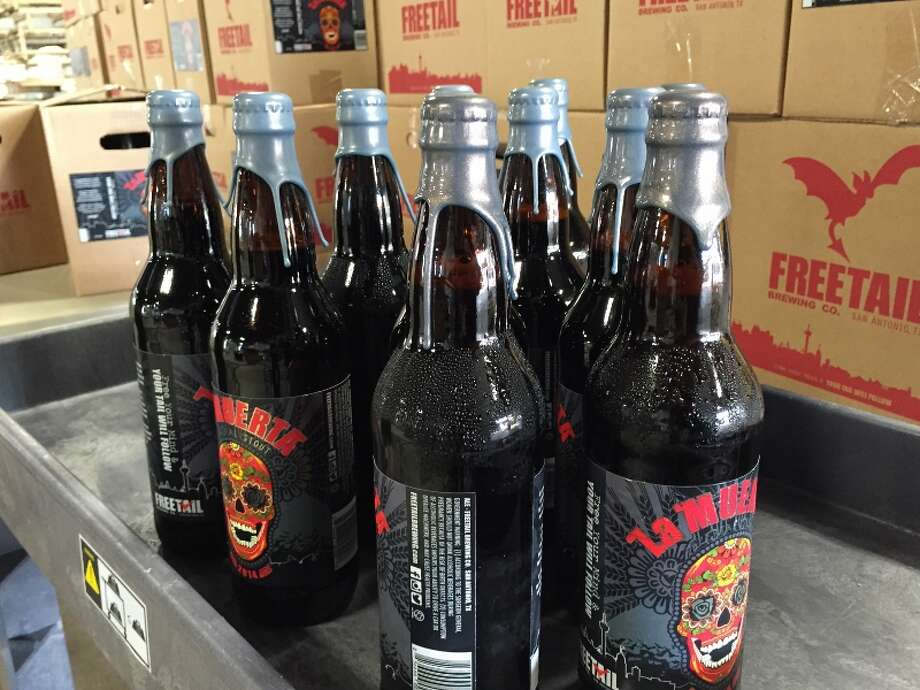 San Antonio's Freetail Brewing Co. will release La Muerta VII an Imperial stout on the Day of the Dead, Nov. 1. Photo: Courtesy: Freetail Brewing Co.