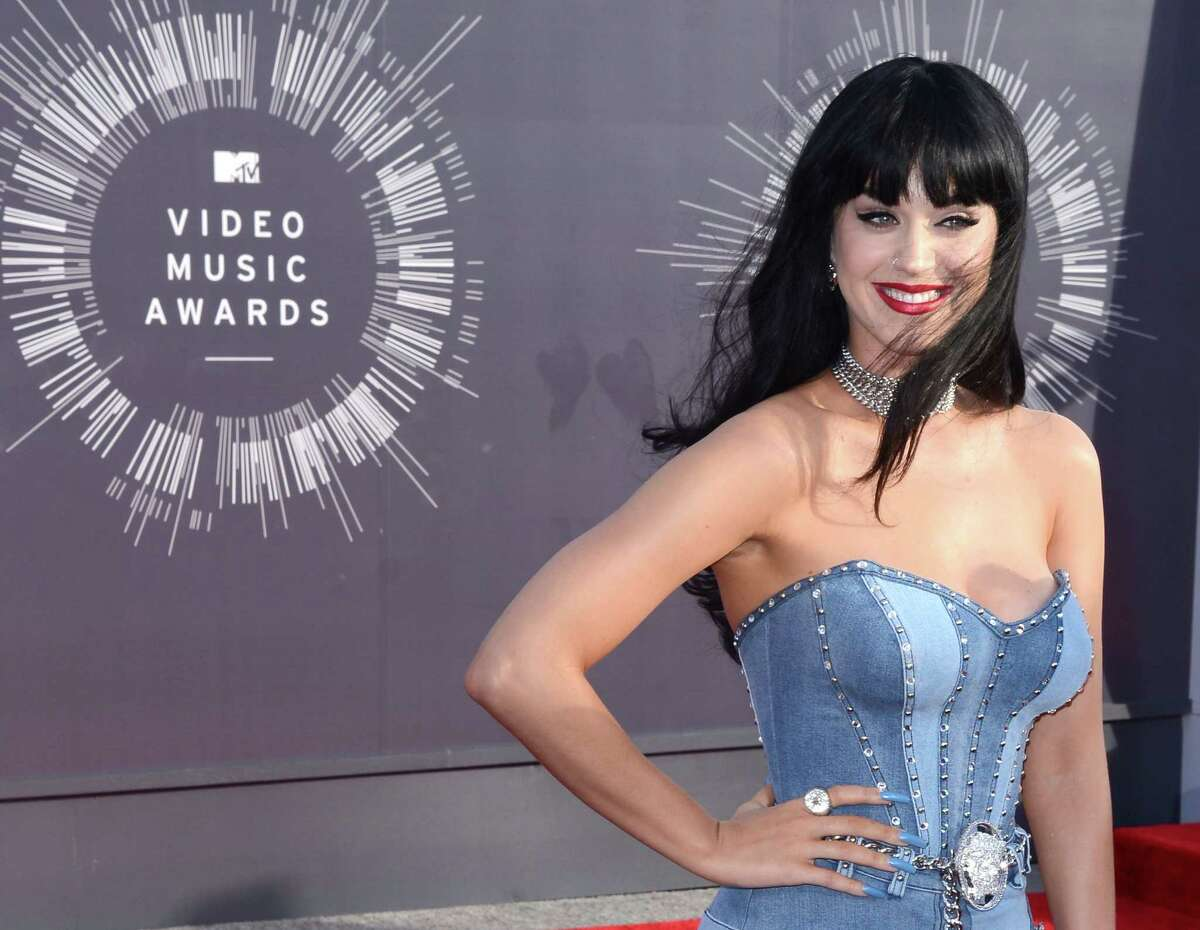 Katy Perry at the MTV Video Music Awards on August 24, 2014.