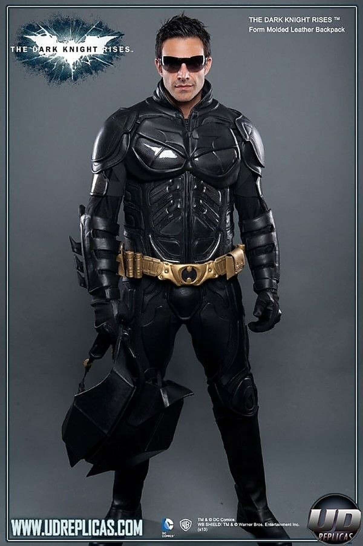This Batman costume sold for $2,500. It's a replica of the costume worn in