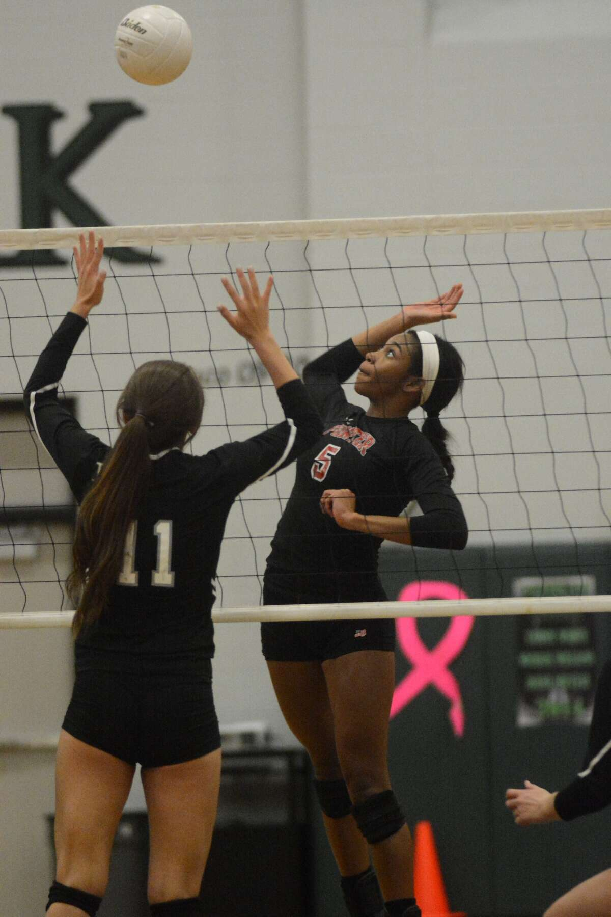 Porter middle blocker Sydney Williams was a terror at the net this season.