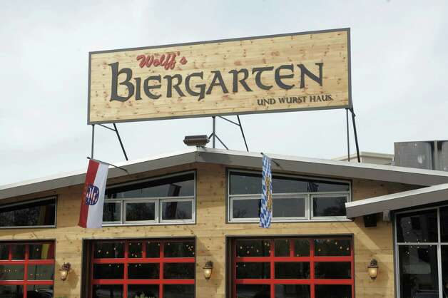 A view of the new Wolff's Biergarten at 165 Erie Blvd. in Schenectady, seen here on Tuesday, Oct. 28, 2014.  (Paul Buckowski / Times Union) Photo: Paul Buckowski / 00029217A