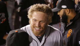 Hunter Pence's barista wasn't ready to concede the World Series.