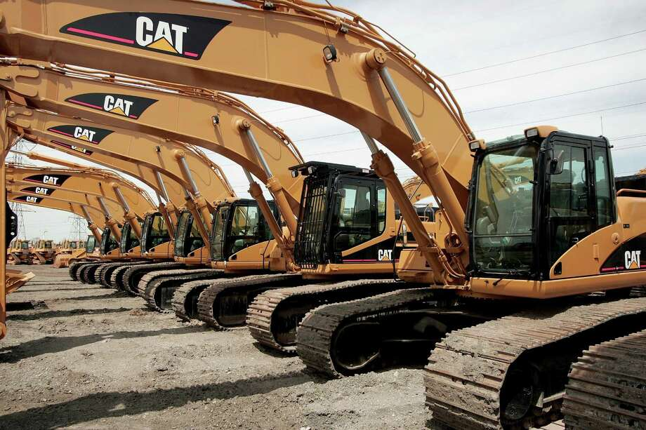 If you own or rent a Caterpillar front-end loader — or any heavy equipment for that matter — don't leave it parked unattended in Houston or San Antonio. According to a survey of heavy-equipment thefts, Houston was No. 1 for such crimes. San Antonio was No. 3.(Photo by Scott Olson/Getty Images) Photo: Scott Olson / Scott Olson / Getty Images / 2006 Getty Images