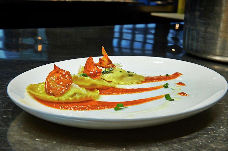 A pasta dish from chef Giancarlo Ferrara's Amalfi Ristorante Italiano & Bar.