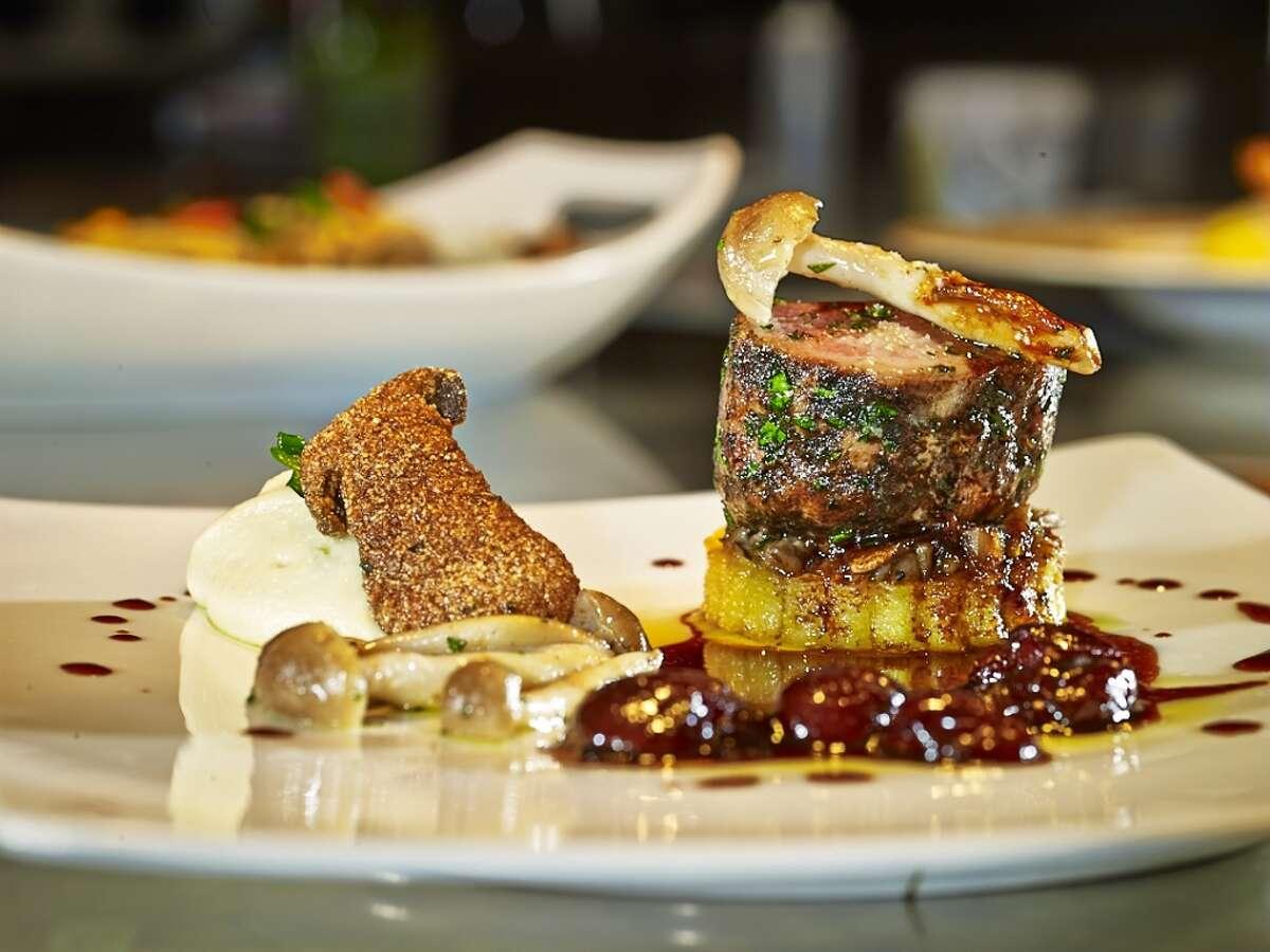 An entree from chef Giancarlo Ferrara's Amalfi Ristorante Italiano & Bar.