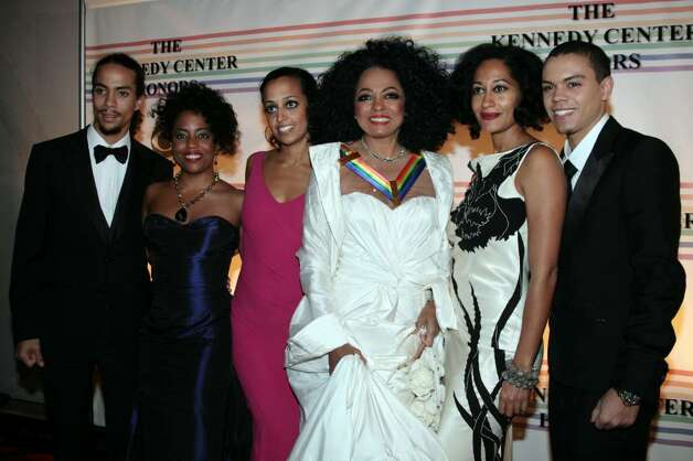 WASHINGTON - DECEMBER 2:  Honoree singer Diana Ross (3R) arrives with her family at the 30th Annual Kennedy Center Honors December 2, 2007 in Washington, DC. (Photo by Nancy Ostertag/Getty Images) *** Local Caption *** Diana Ross Photo: Nancy Ostertag, Getty Images / 2007 Getty Images