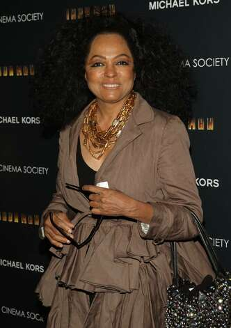 "NEW YORK - APRIL 28:  Singer Diana Ross attends a screening of ""Iron Man"" hosted by the Cinema Society and Michael Kors at the Tribeca Grand Screening Room on April 28, 2008 in New York City.  (Photo by Stephen Lovekin/Getty Images) Photo: Stephen Lovekin, Getty Images / 2008 Getty Images"