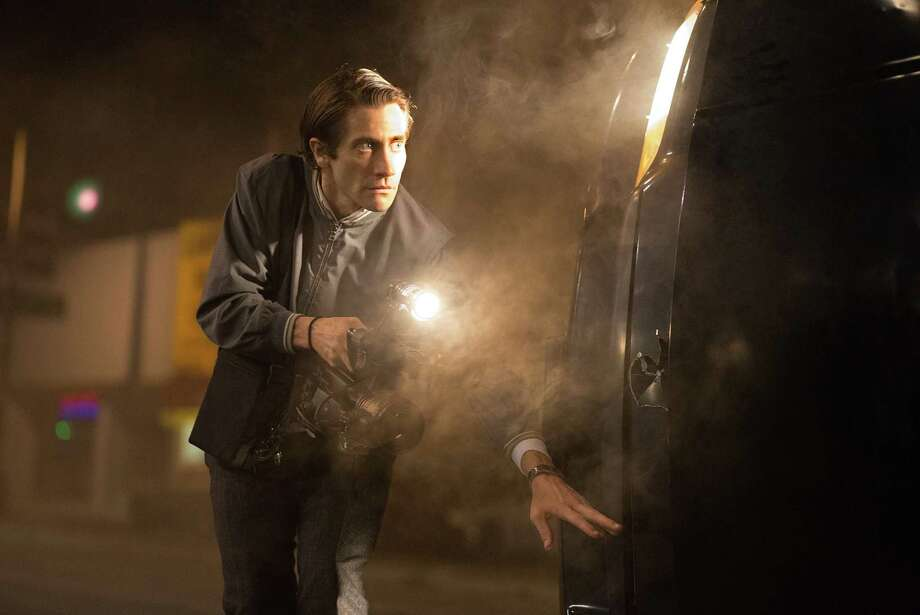 "Jake Gyllenhaal stars in ""Nightcrawler."" (AP Photo/Open Road Films, Chuck Zlotnick) Photo: Chuck Zlotnick, Associated Press / Open Road Films"