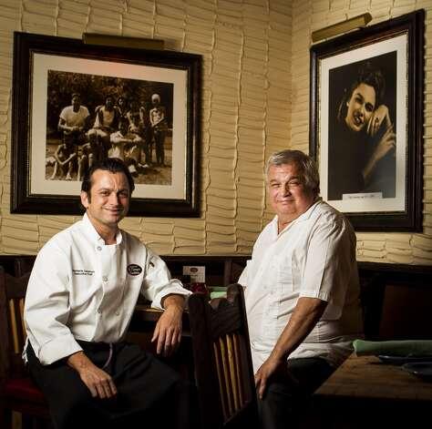 "The Laurenzo FamilyDominic Laurenzo, left, and his father Roland ""Tommy"" Laurenzo Photo: Nick De La Torre, Chronicle"