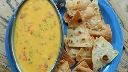Chile con queso from El Tiempo Cantina, Houston. (Photo: Courtesy El Tiempo)