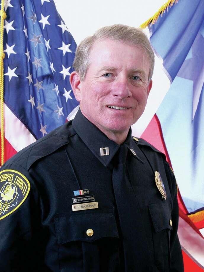 Jasper Police Chief Robert Macdonald