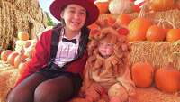 Lanna is the best big sister always looking after her 13 month old little sister Victoria. For Halloween this year she wanted their costumes to be in harmony and thought little Victoria would be a perfect Lion while she would be the Circus Lion Tamer :)  Nicholas Raba