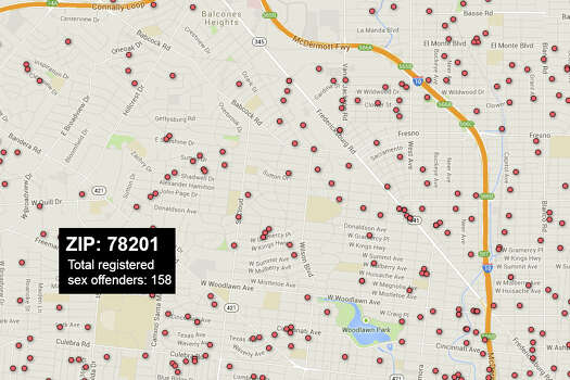 residence offenders map sexual louisiana