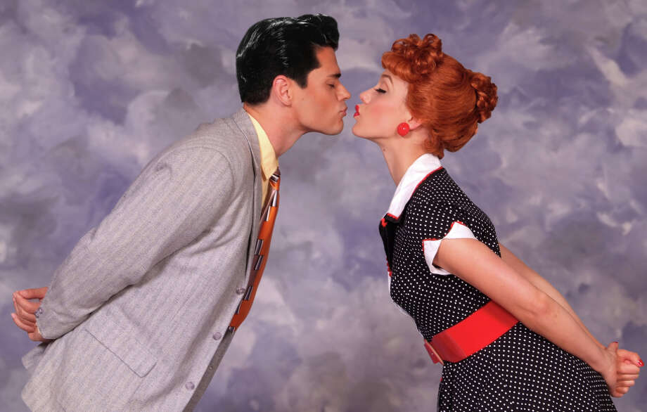 "Thea Brooks as Lucy and Euriamis Losada as Ricky in ""I Love Lucy: Live on Stage."" Photo: Ed Krieger / Ed Krieger / ONLINE_YES"