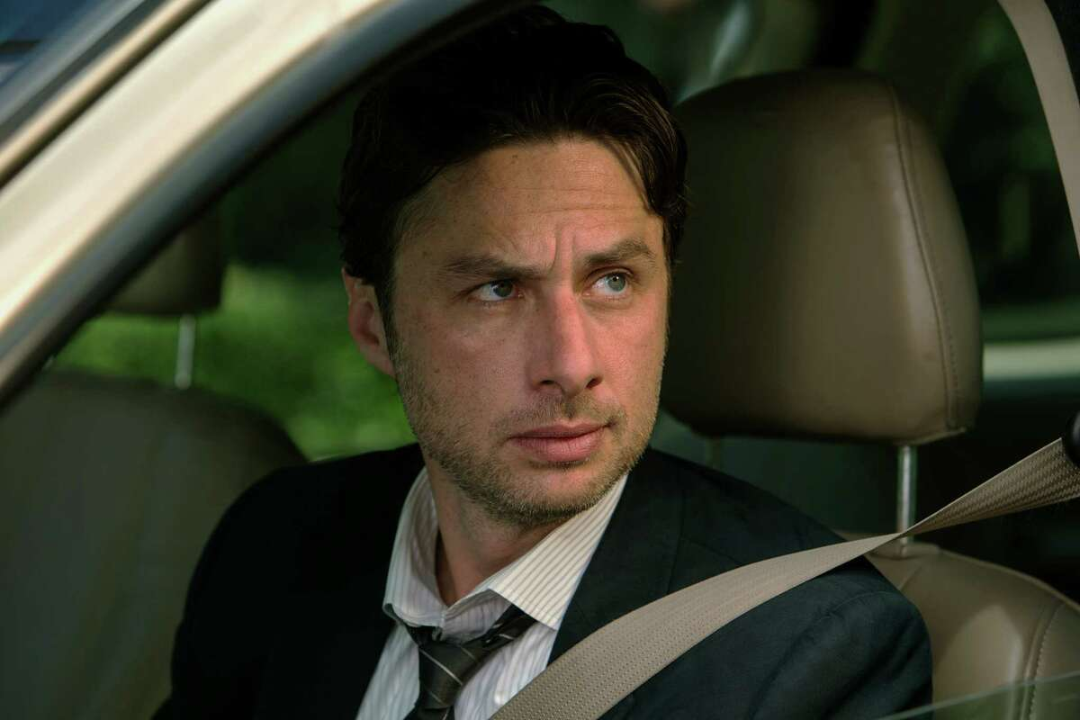 """This image released by Focus Features shows Zach Braff in """"Wish I Was Here."""" (AP Photo/Focus Features, Merie Weismiller Wallace) ORG XMIT: NYET540"""