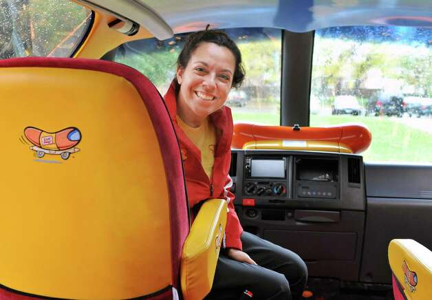 wienermobile helping out meals on wheels times union. Black Bedroom Furniture Sets. Home Design Ideas