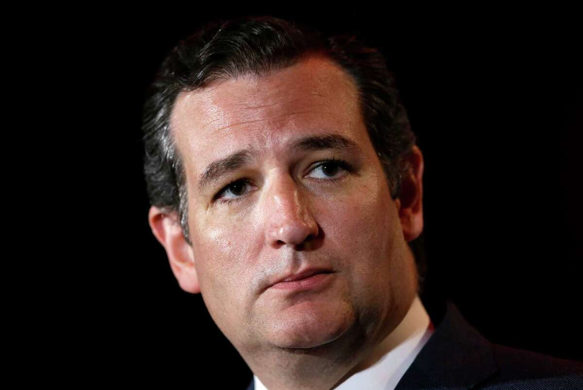 """Back in October 2013, a group of protesters disrupted Sen. Ted Cruz, R-Texas, while he was speaking to a crowd at the Values Voter Summit in Washington. While they were ushered out, Cruz said, """"I'm actually glad that the president's whole political staff is here instead of actually doing mischief in the country."""""""
