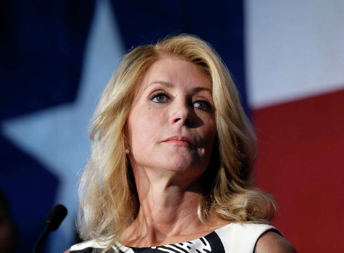Wendy Davis Costume needed: pink tennis shoes and a back brace