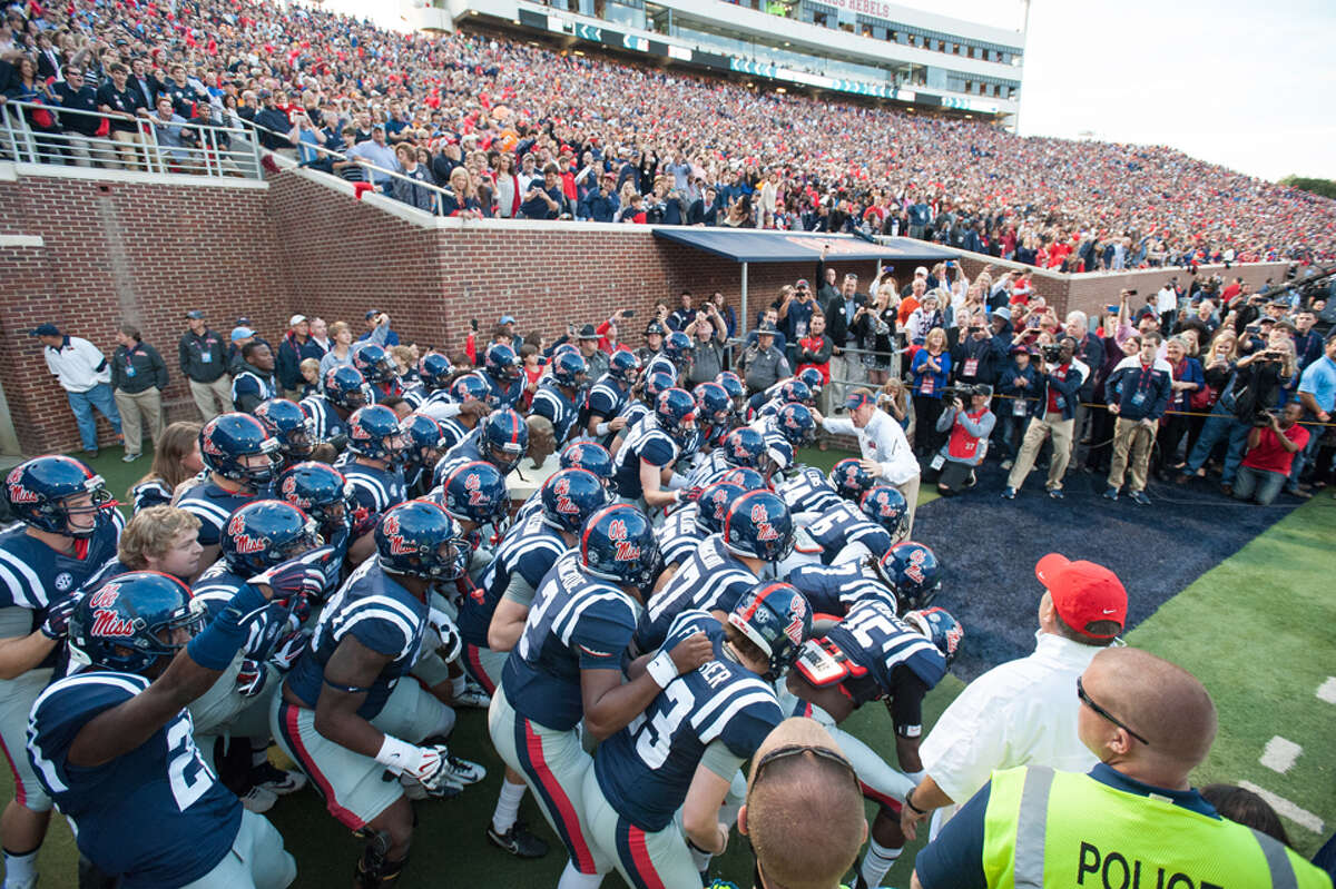 Nov. 1 - Auburn at Ole Miss Ole Miss can sneak back into the playoff picture perhaps with at home against Auburn. A loss by either team practically knocks them out of contention.
